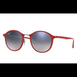 Ray-Ban | Round Red Sunnies